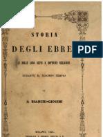 Storia degli Ebrei e delle loro sette e dottrine religiose, durante il secondo Tempio, 1844
