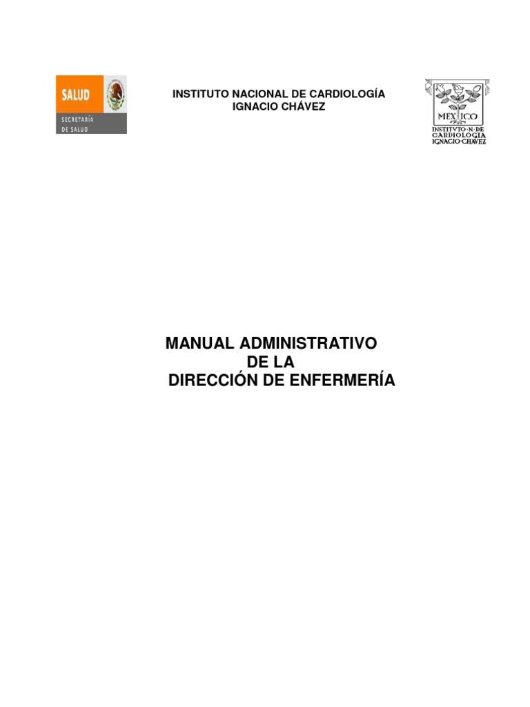 Manual Administrativo Direccion Enfermeria