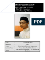 Islamic Speech Review- Compiletlg Print