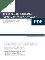 Theories of Nursing tics & Software