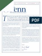 2008 UPenn's Deans Newsletter