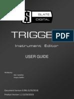 Trigger Instrument Editor User Guide