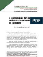 A contribuição de Marx para a análise da crise socioambiental no capitalismo