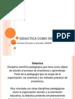 Didactica Como Disciplina