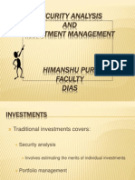 1. Overview and Investments
