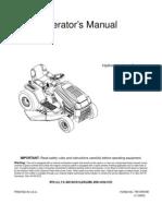 Huskee Riding Mower Manual