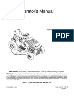 Huskee Riding Mower Manual   Tractor   Lawn Mower on