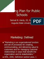 Marketing Plan for Public Schools