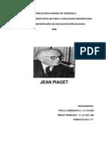 Trabajo de Jean Piaget