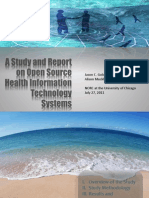 A Study and Report on Open Source Health Information Technology Systems Presentation