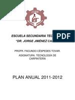 Plan anual 2011-2012