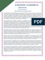 La Caja los Politicos y La Nacion S.A.