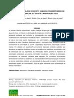 PERCEPÇÃO AMBIENTAL DOS RESIDENTES DO BAIRRO PRESIDENTE MÉDICI EM CAMPINA GRANDE, NO TOCANTE À ARBORIZAÇÃO LOCAL