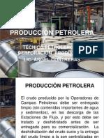 Producción Petrolera Técnico Petróleo
