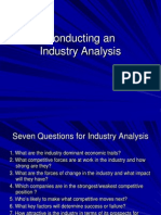 Conducting an Industry Analysis (2)
