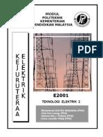 E2001 Teknologi Elektrik 2 UNIT0