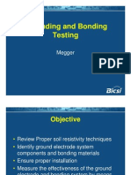 Grounding and Bonding Testing - Megger
