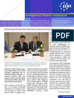 EDFI Newsletter No11 July2009