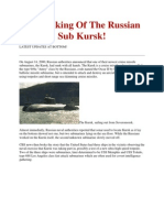 Russian's Submarine Kursk Sinking Issue