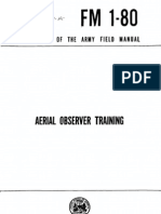 Aerial Observer Training