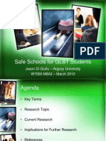 PPT Safe Schools for GLBT Students