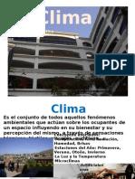 Introducción al Clima
