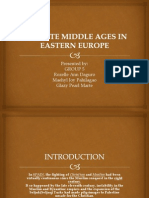 The Late Middle Ages in Eastern Europe