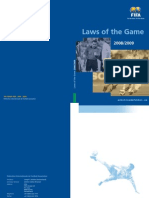 Laws of the Game 08 09