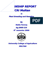Central Cotton Research Report)