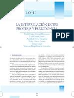 Capítulo II Interrelación prótesis y periodoncia