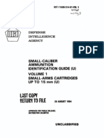 Firearms - Dia - Dst-11606-514-81-Vol 1 - Small-Caliber Ammunition Identification Guide - Volume 1 Small-Arms Cartridges Up to 15 Mm