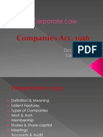 22648542 Company Law Ppt by Saikat