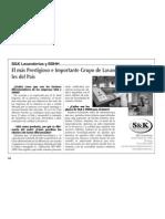 SK Lavanderías Direcmed Reportaje