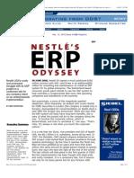 Nestle's ERP Odyssey