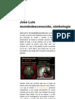 Jose Luis mundodesconocido, simbología _ defensatum