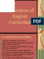 Orientation of English curriculum-Snober+Saima