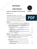 Certificate Fire Cert sample paper Jul 0739200748105