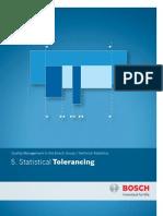 5. Statistical Tolerancing