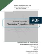 AL 1.3 - Corrosão e protecção de metais