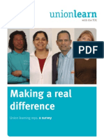 Making a Real Difference - ULR Survey