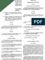 aprovao de normas regulamentares de situaes previstas na lei de bases da poltica do ambiente