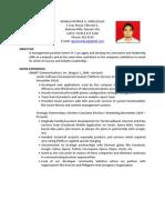 RGWenceslao Resume Aug2011