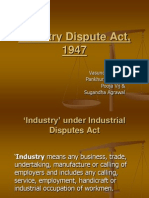 Industry Dispute Act, 1947