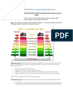 How OSI 7 Layer Model Works