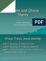 Fractals and Chaos Theoryies
