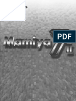 Mamiya 7ii Instructions