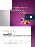 Impact of Organized Retailing