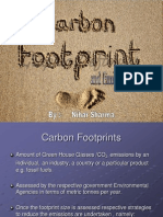 Cabon Footprint