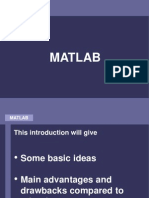 Cis601 02 Matlab Intro