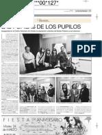 Euliser Polanco. Pupilas. Centro asturiano de Oviedo. Asturias.